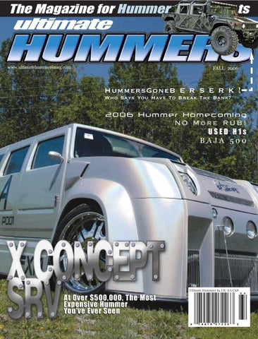 b2c81b4eca85d4 2006 The Magazine for Hummer by Ted Sluymer - issuu