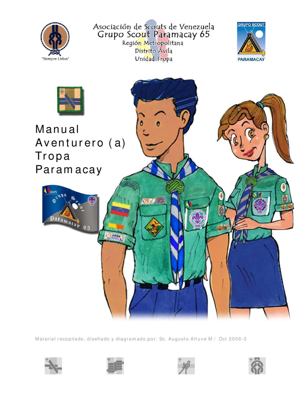 Manual Aventurero by Grupo Scout Paramacay 65 - issuu