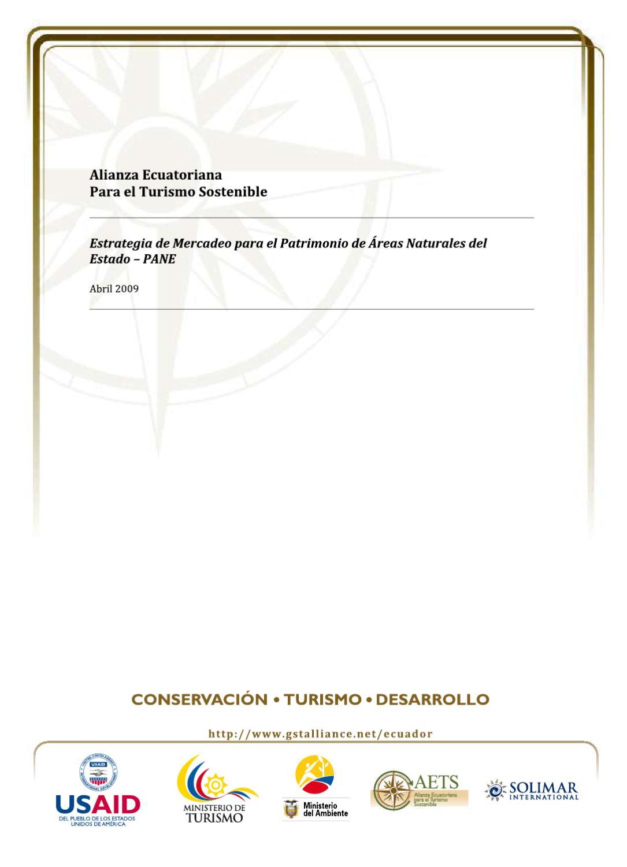 AETS_ALIANZA ECUATORIANA PARA EL TURISMO SOSTENIBLE by Ricardo ...