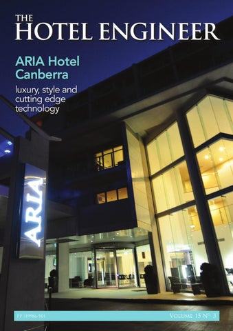 The Hotel Engineer 15_3 by Adbourne Publishing - issuu