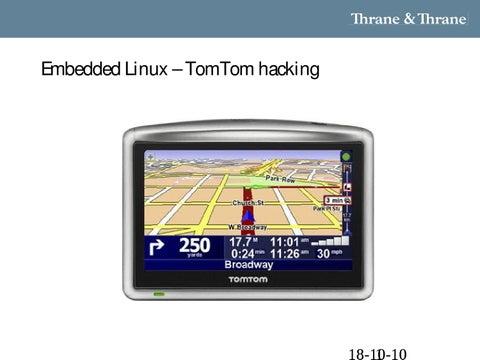 TomTom Linux Hacking by Morten Christensen - issuu