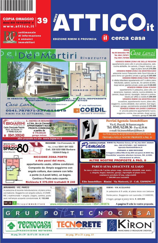 Attico rimini 39 by b p editori issuu - Bagno 91 riccione ...