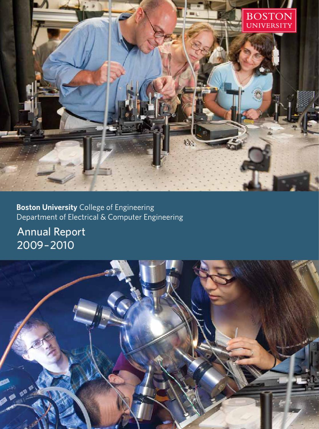 Bu Ece Annual Report 2009 10 By Department Issuu Homemade 100 Hp Motor Controller For An Electric Car Electronicslab