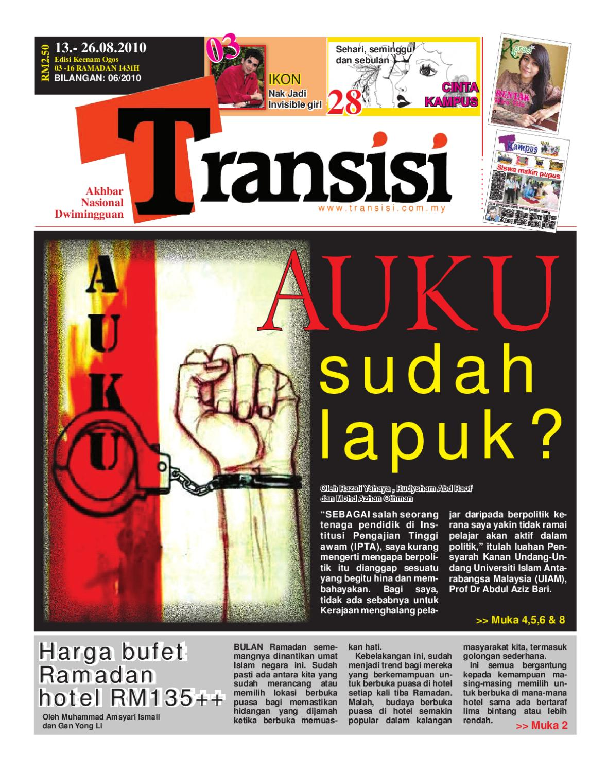Transisi 6 By Transisi Online Issuu