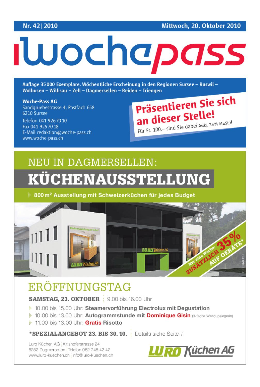 Woche-Pass | KW42 | 20. Oktober 2010 by Woche-Pass AG - issuu