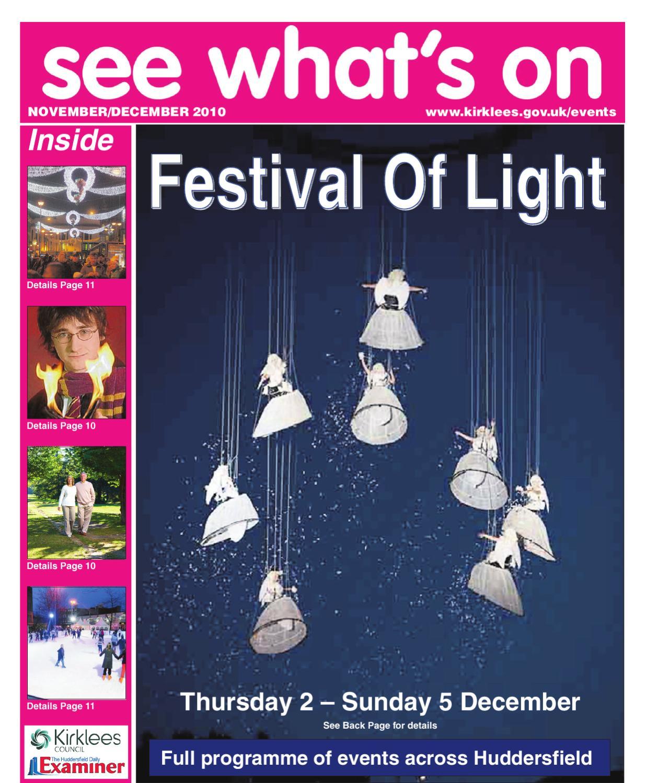 Festival Of Light October 2010 Supplement By Huddersfield