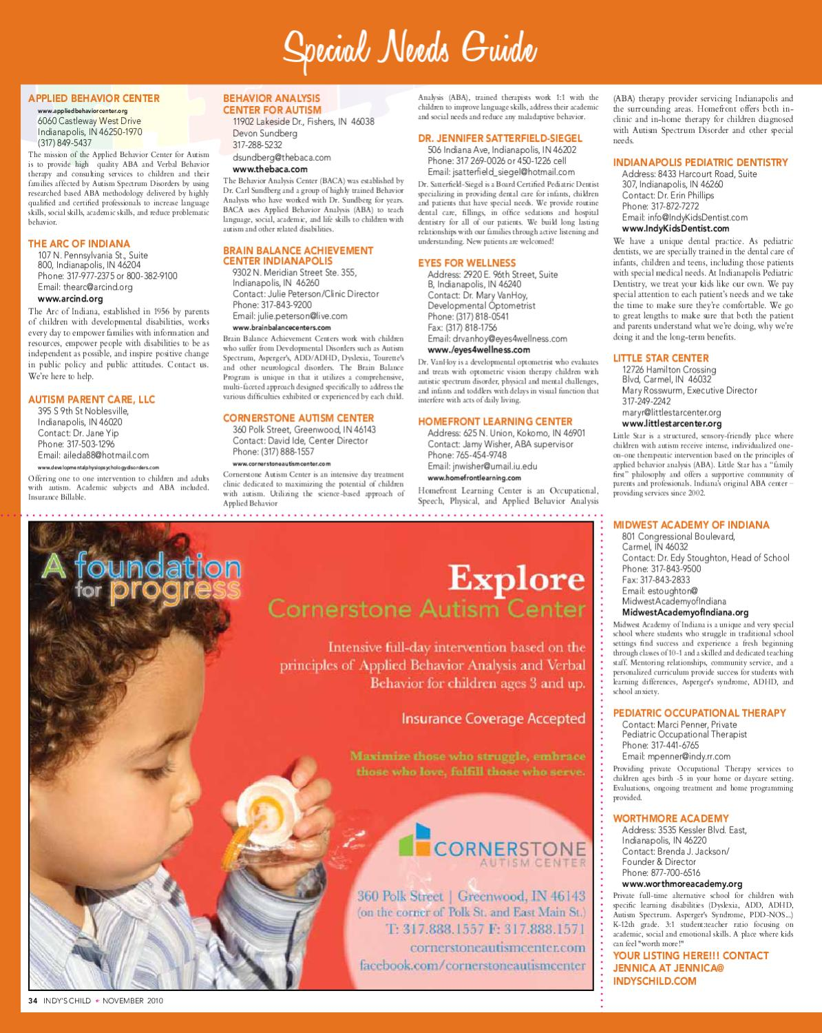 Indy's Child // 11 10 by Midwest Parenting Publications - issuu