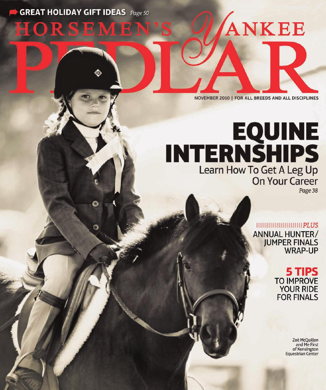 ed88416772f Horsemen s Yankee Pedlar (November 2010) by Equine Journal - issuu