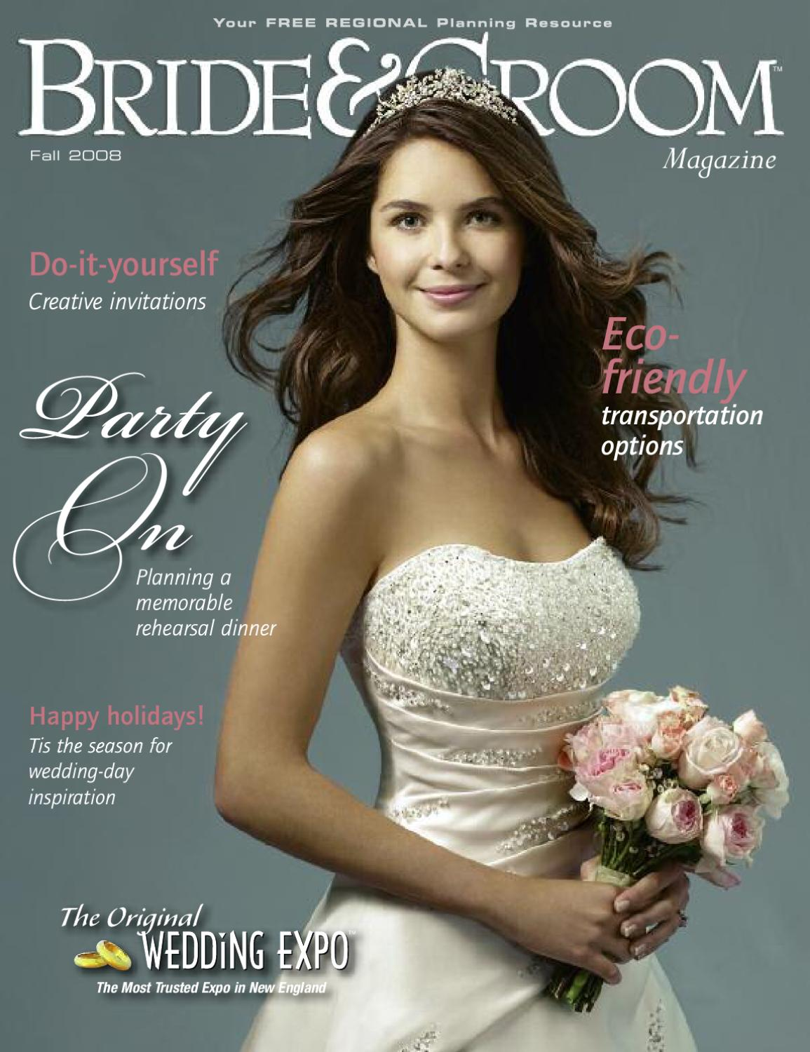 fe9b4db999 Fall 08 by Bride   Groom Magazine - issuu