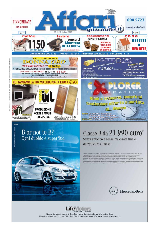 Giornale Affari 22 Ottobre 2010 by Editoriale Affari Srl - issuu d0c4d01c67b