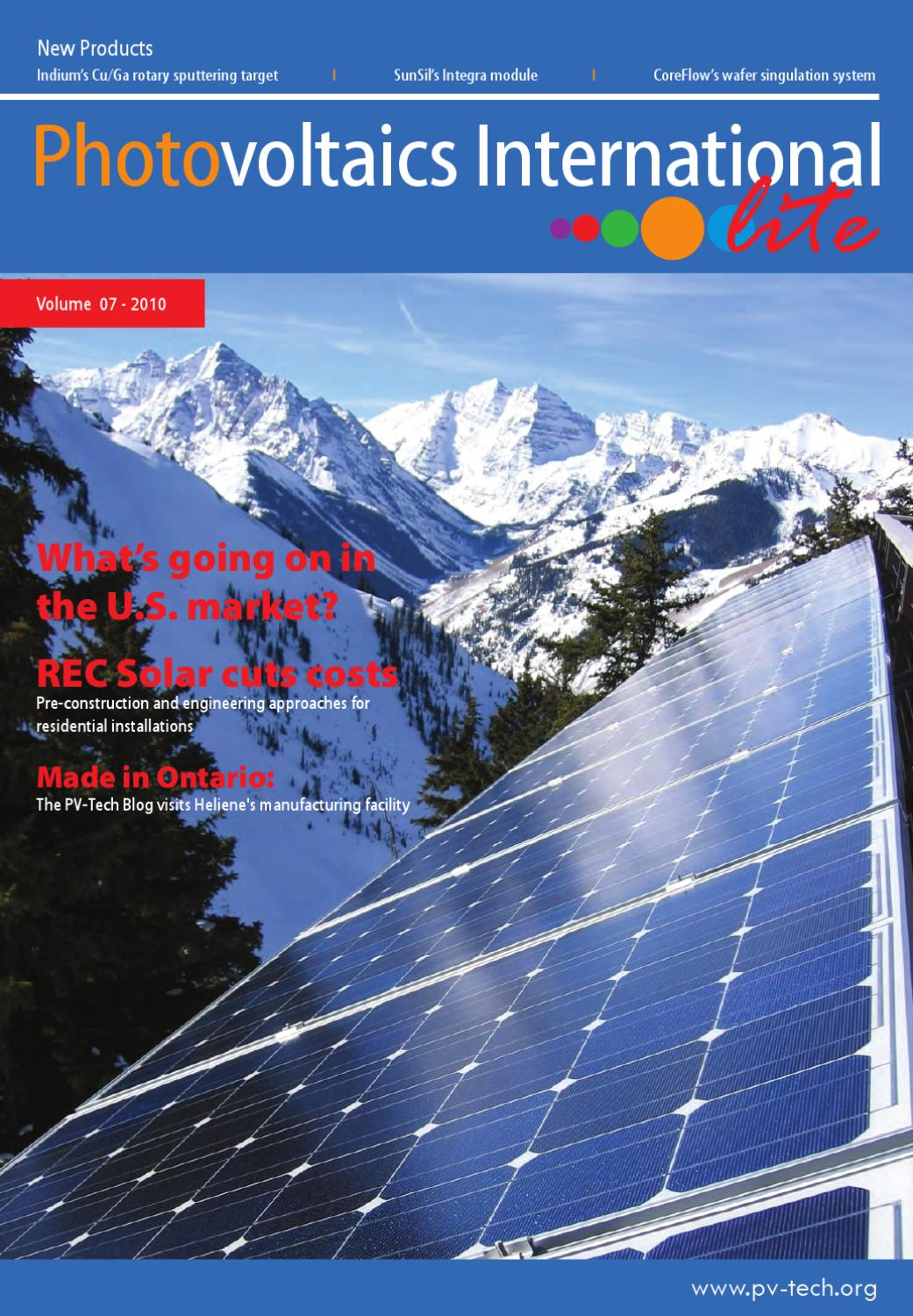 Pvi Lite Vol 7 By Henley Media Group Issuu Questions About Solar Power Renewable Energy Photo Voltaic Roi Tco