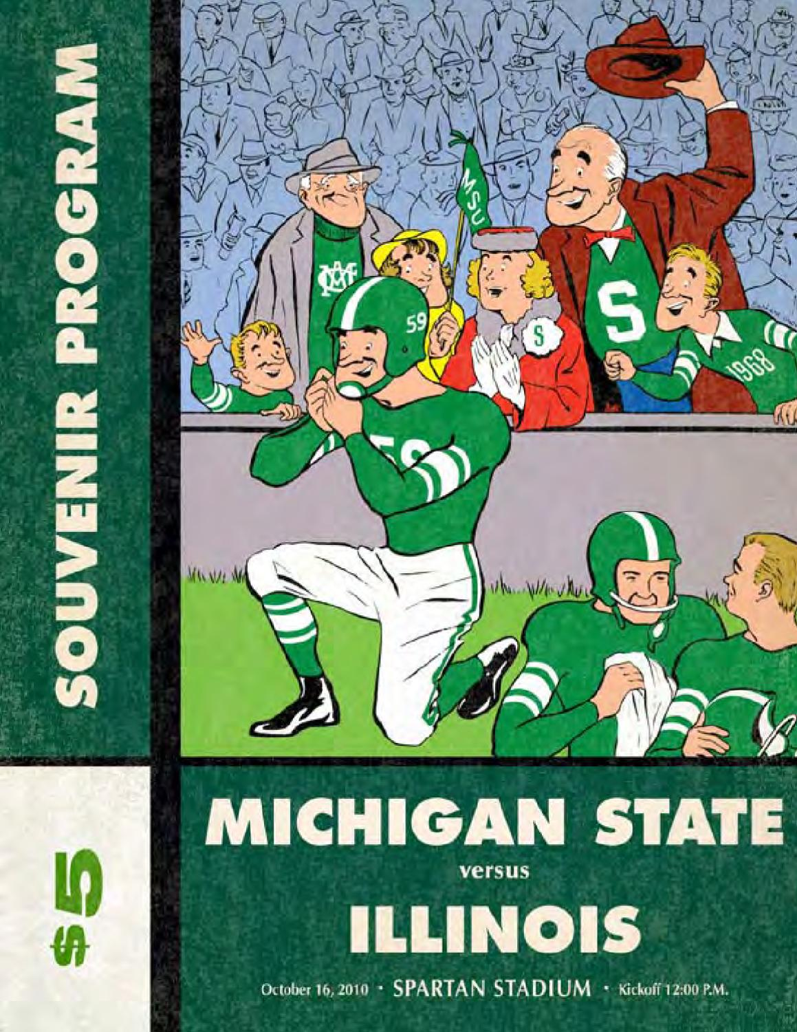 2010 Michigan State Football Magazine Illinois By Ben Phlegar Issuu Hialeah Meter Co Wiring Diagram For Single Phase 2s 2016 Car Release