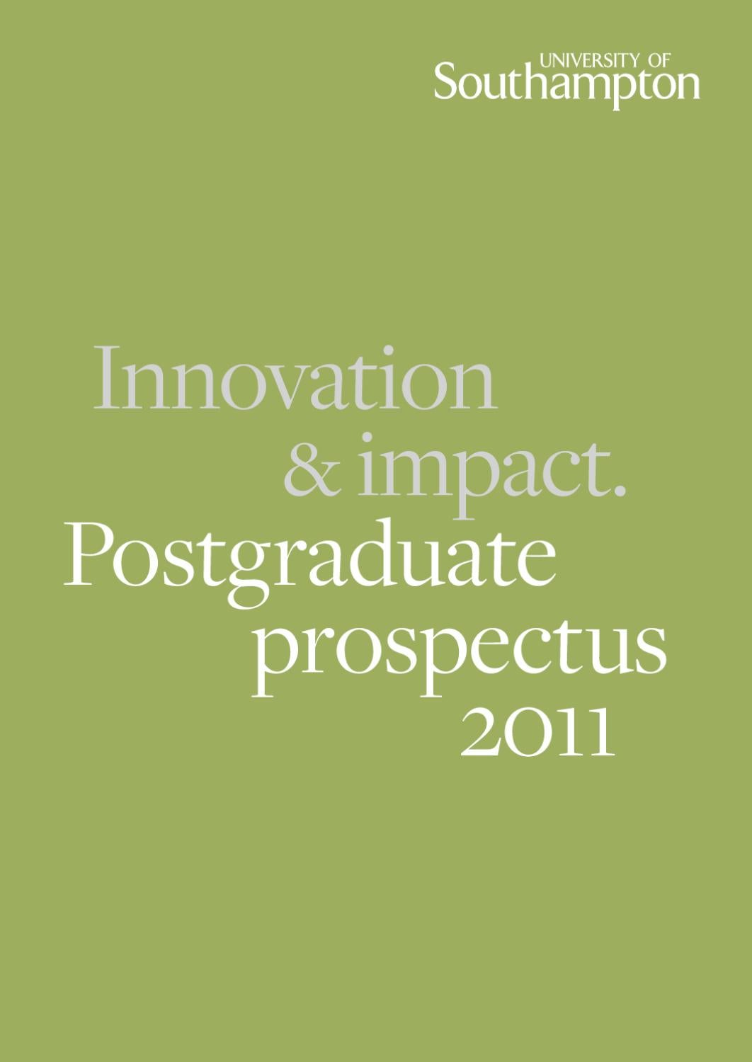 Postgraduate Prospectus By University Of Southampton Issuu Carling Hazard Switch Page 2 Land Rover Zone