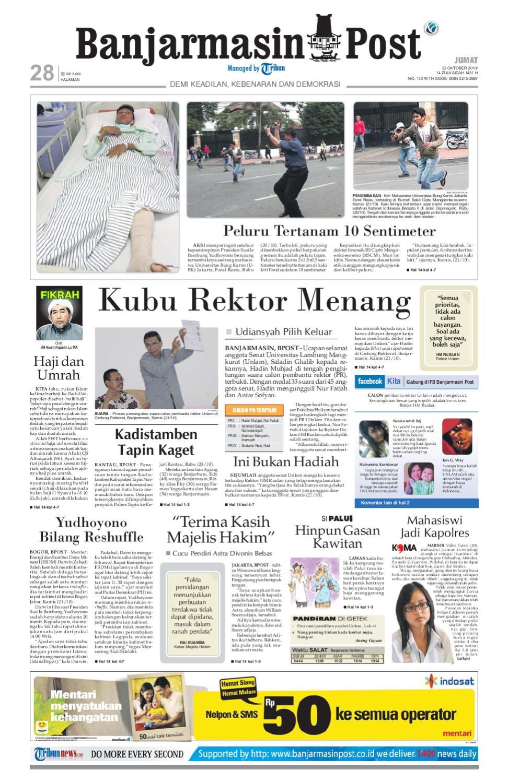 Banjarmasin Post Edisi Jumat 22 Oktober 2010 by Banjarmasin Post ...