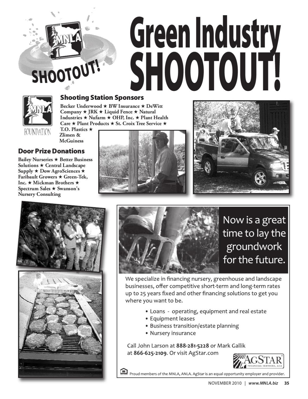 The Scoop Online - November 2010 by Minnesota Nursery
