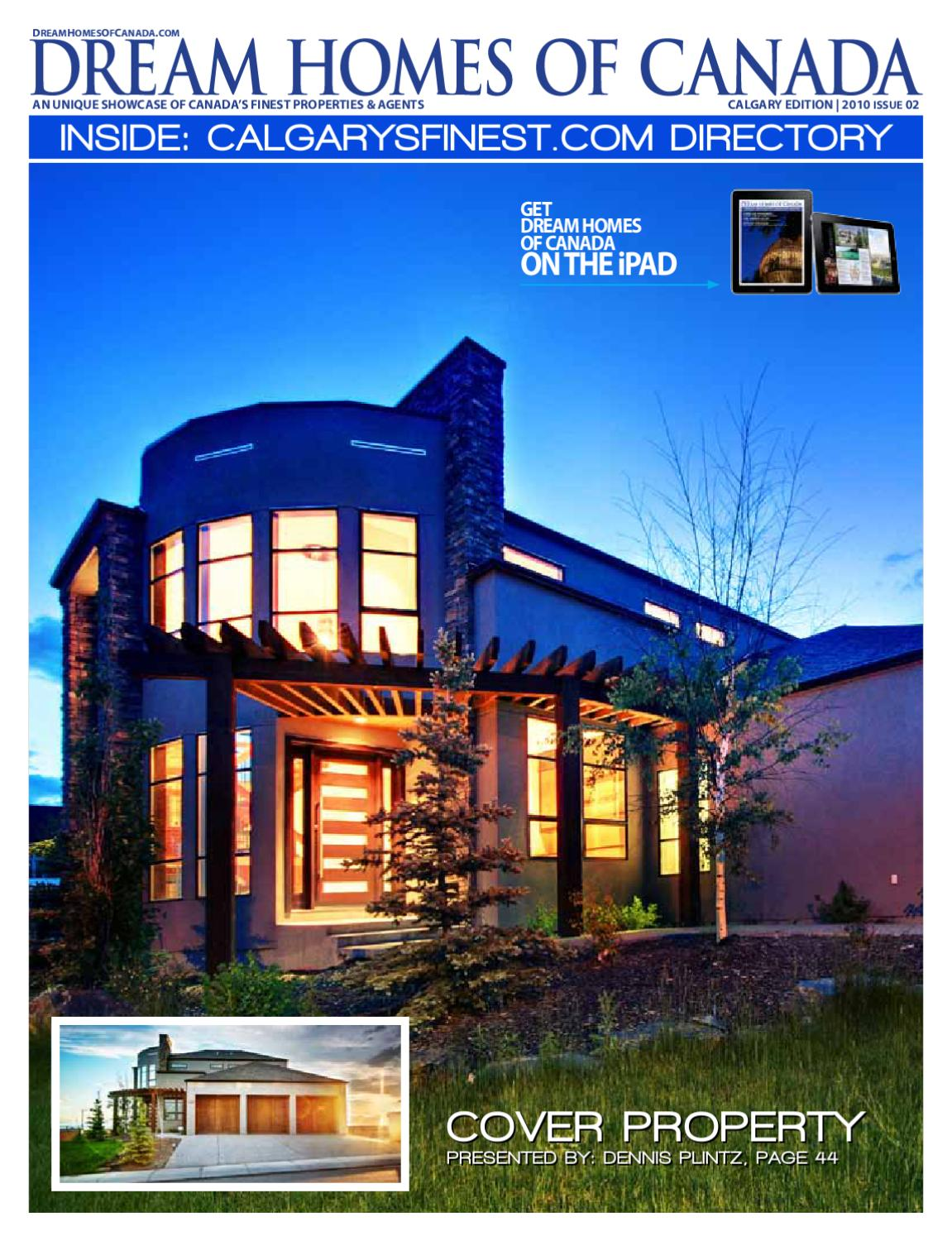 dream homes of canada fall 2010 by luxe media inc issuu