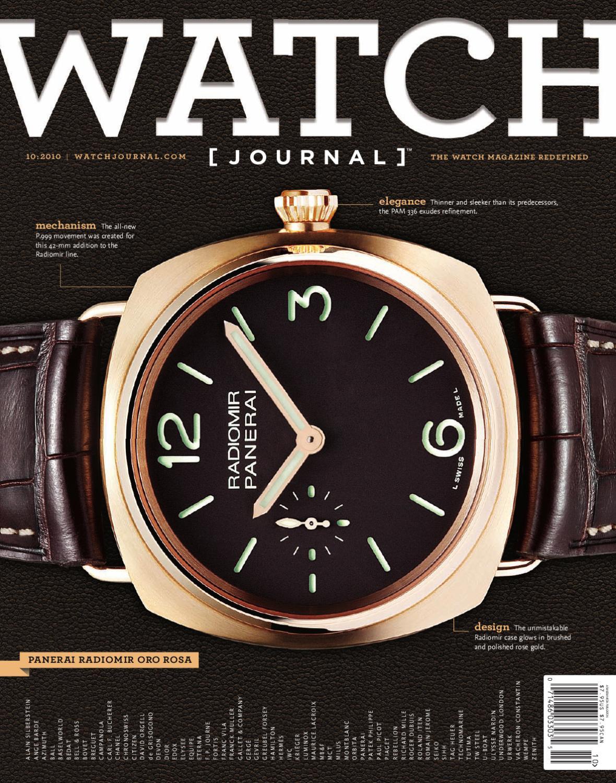 e7eca4f60a Watch Journal Issue 7 by sandow media - issuu