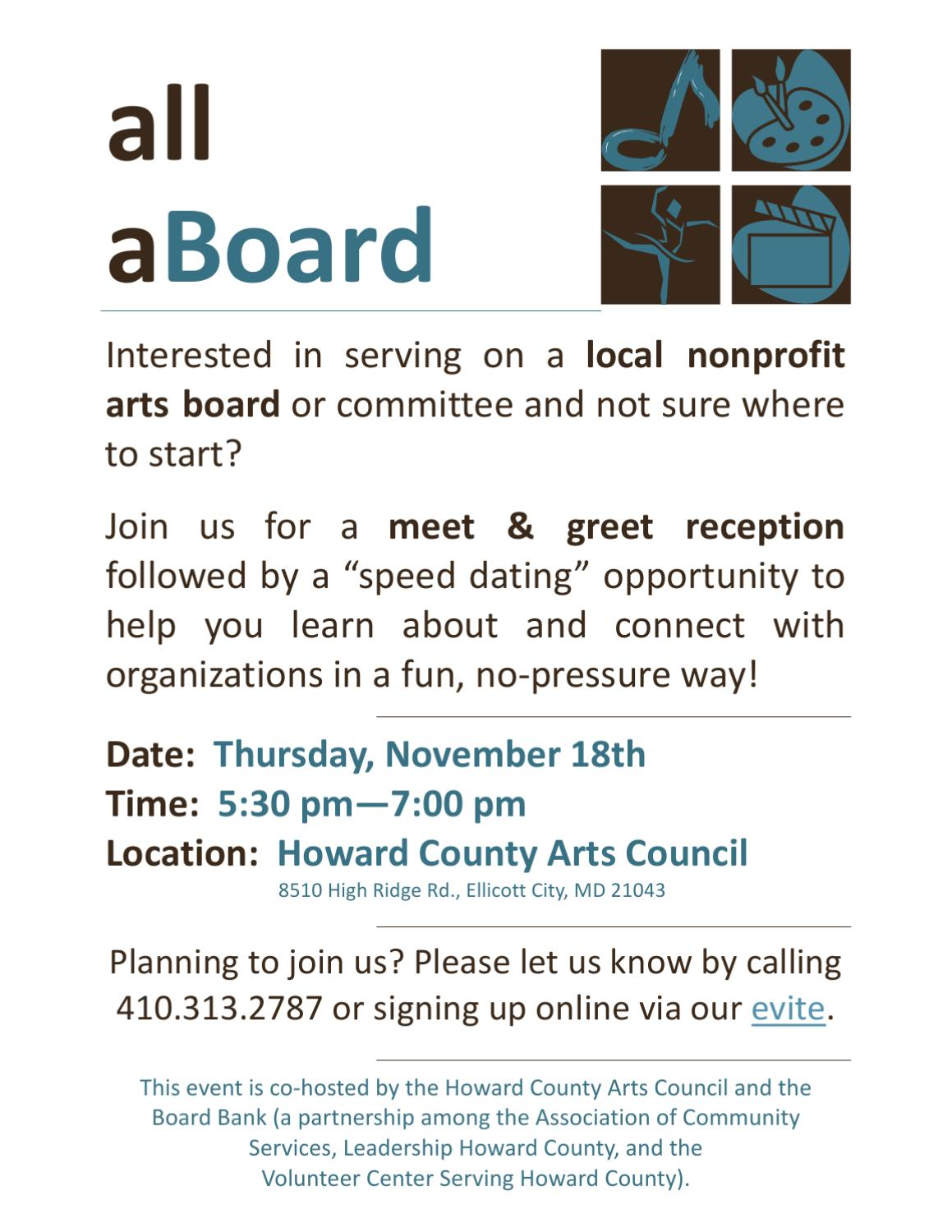 Speed Dating Howard County