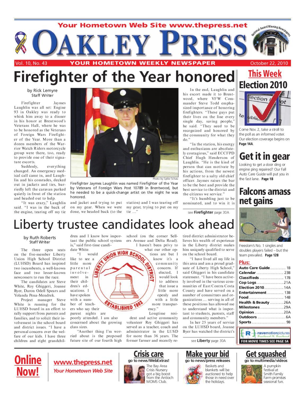 Oakley Press_10 22 10 by Brentwood Press & Publishing - issuu