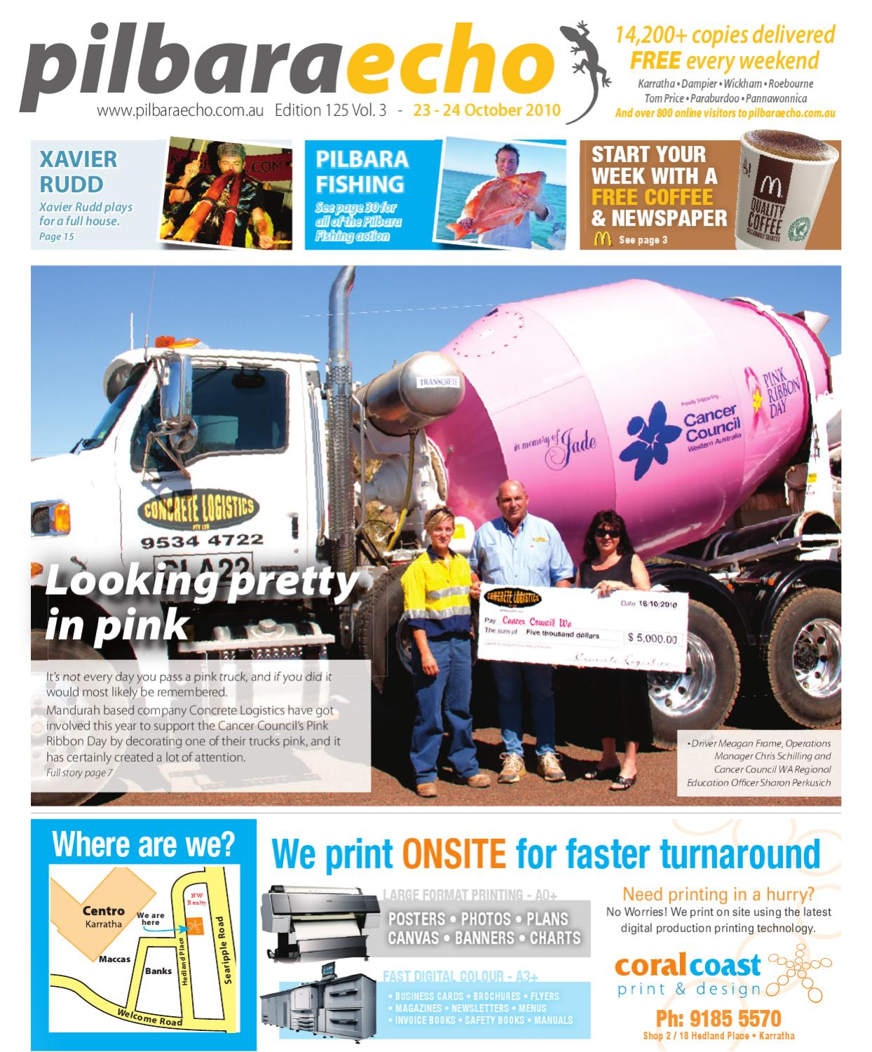 Pilbara Echo 23 - 24 October 2010 by Pilbara Echo Newspaper
