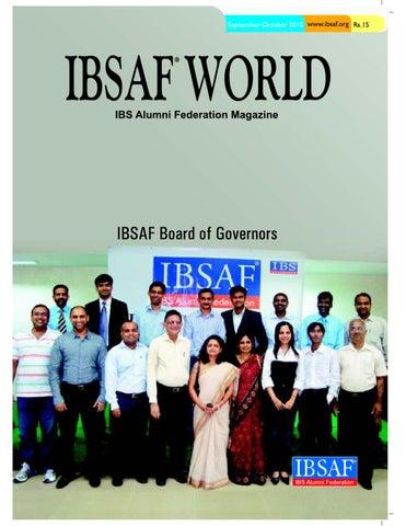IBSAF World - Sep-Oct'2010