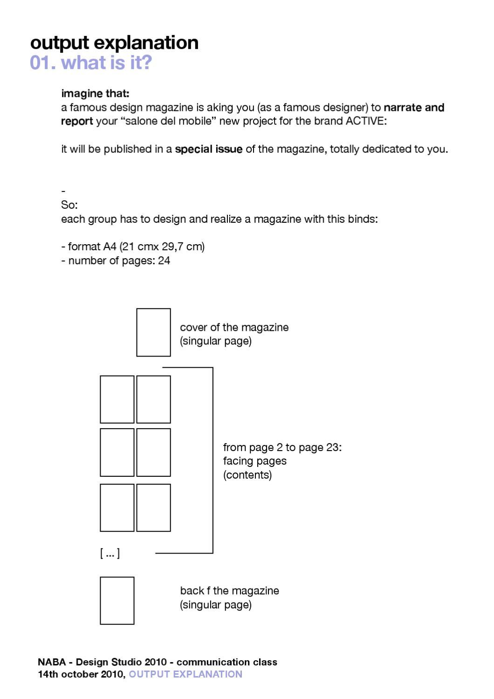 101007 assignment magazine instruction by giorgia lupi issuu ccuart Images