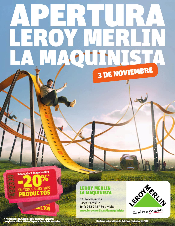 Apertura de la tienda de La Maquinista by Leroy Merlin España - issuu a096368ba8c2