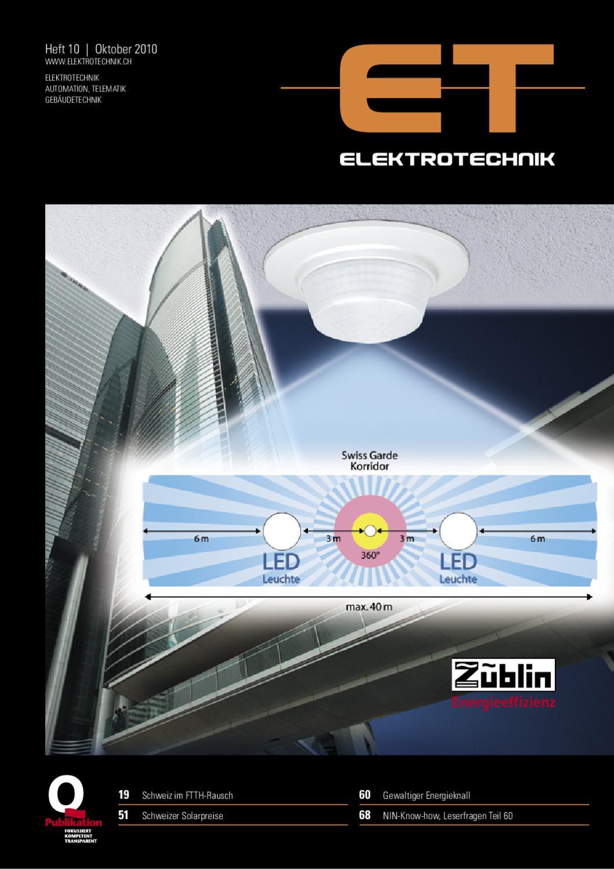 Elektrotechnik 10/2010 by Daniel Gugger - issuu