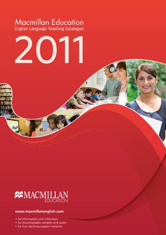 Official International Catalogue 2011 by Macmillan Education