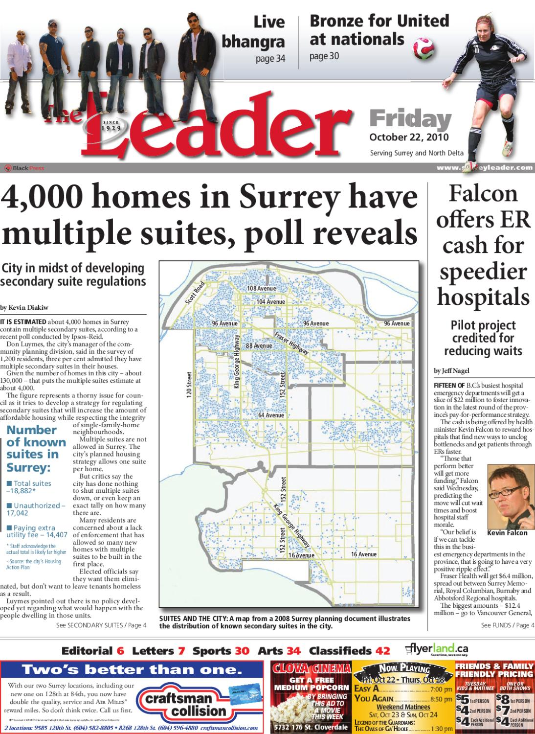 Fri Oct 22 2010 Leader By Surrey Leader Issuu