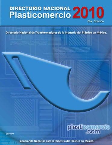 Directorio Plasticomercio 2010 by Plasticomercio - issuu cfaa1051467e