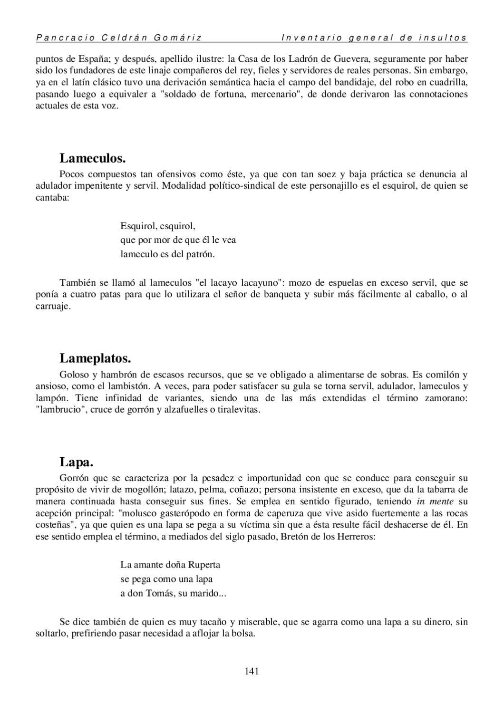 Libro de los insultos by irakaslea 100 - issuu