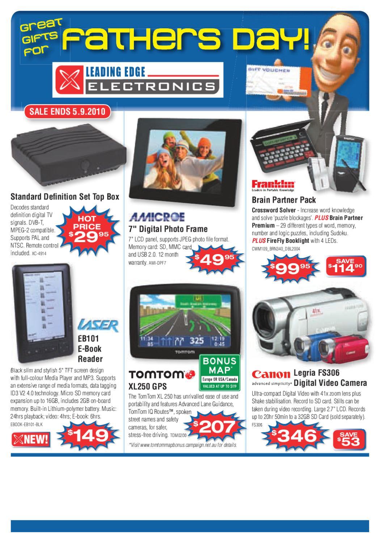 2010 Aug  Leading Edge Electronics Brochure by Leading Edge