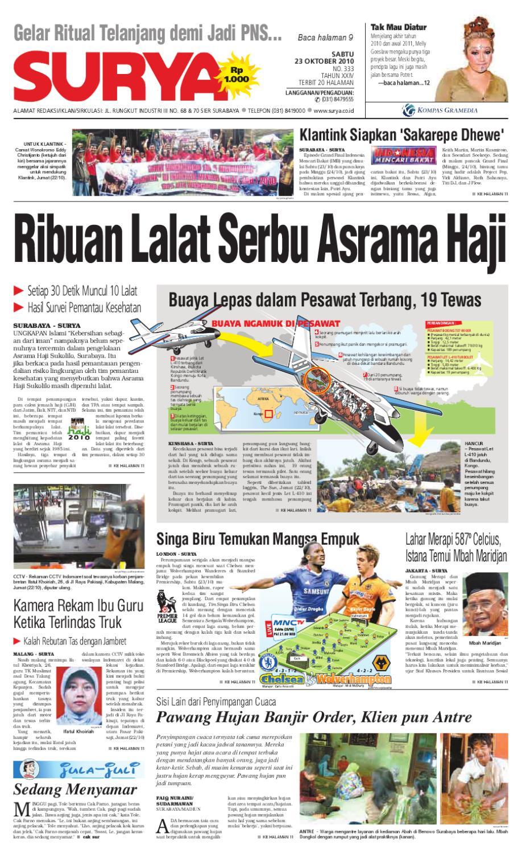 Surya Edisi Cetak 23 Oktober 2010 By Harian Issuu Penutup Toilet Duduk Otomatis Izen Ib 450