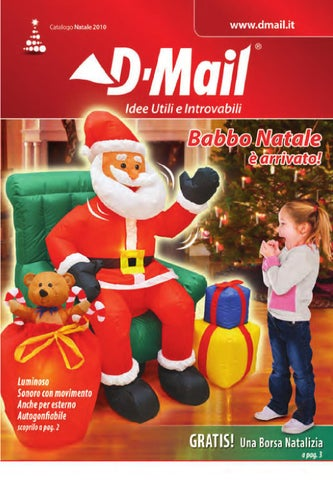 D mail natale 2010 ita by venro direct srl issuu for Dmail natale