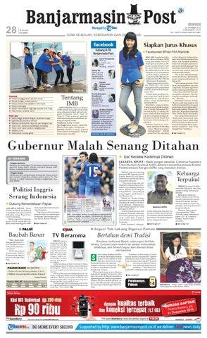 Banjarmasin Post - Edisi Minggu, 24 Oktober 2010
