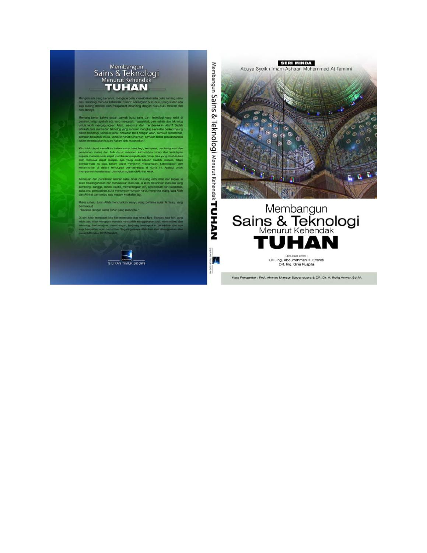 MEMBANGUN SAINS & TEKNOLOGIMENURUT KEHENDAK TUHAN by Download BS E ...
