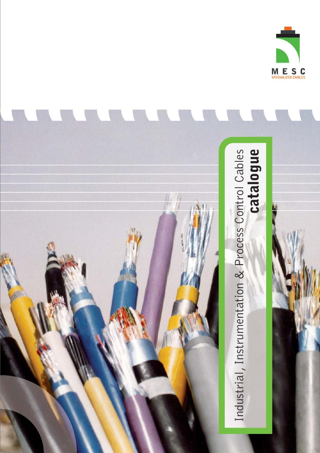 Mesc Instrumentation Cable Catalouge By Mesc Group Issuu