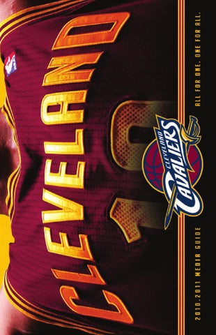 2010-11 Cleveland Cavaliers Media Guide by Cavaliers Operating ... 4f3cfe90b