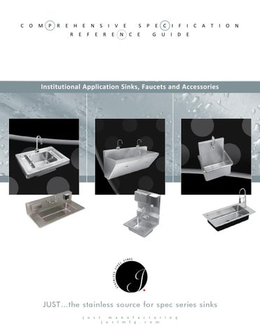Just Manufacturing Institutional Catalog By Rachel Collins   Issuu