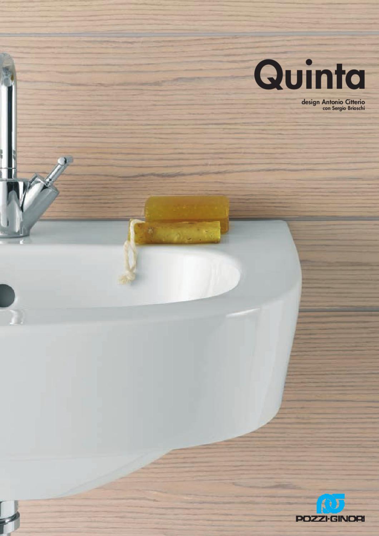 Pozzi Ginori Serie Quinta By Domus Edilizia Issuu