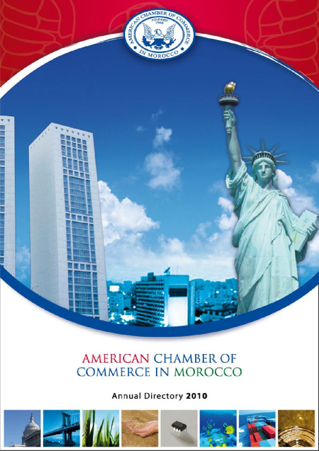 AmCham Annual Directory 2010 by AmCham Morocco - issuu
