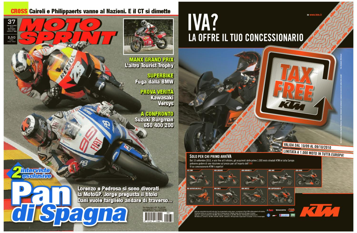 6149b5e4 14 settembre - Motosprint 37 by Divisione Multimedia Sport Network SRL -  issuu