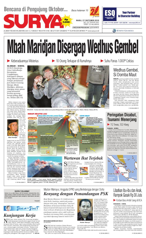 Surya Edisi Cetak 27 Oktober 2010 By Harian Issuu Tcash Vaganza 36 Produk Ukm Bumn Batik Print Motif3