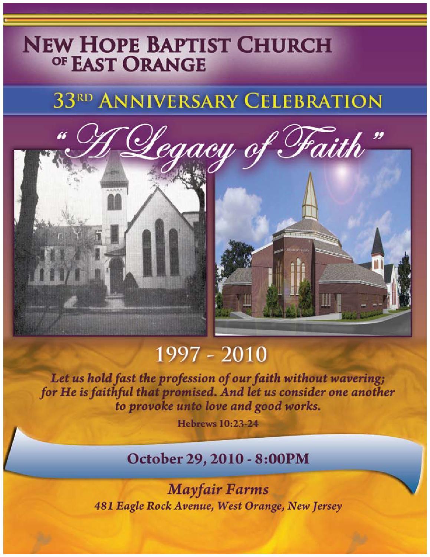 New Hope Baptist Church Journal by MLDCommunications - Issuu
