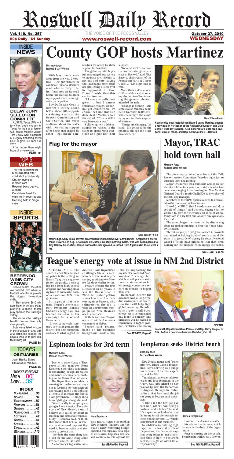 newspaper by Roswell Daily Record - issuu