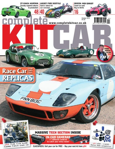 Complete Kit Car Magazine October 2010 By Performance Publishing Ltd