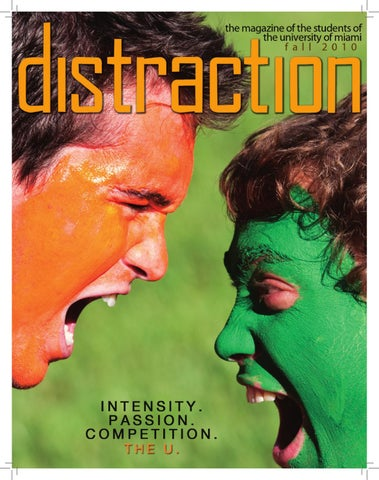 Distraction Magazine Fall 2010