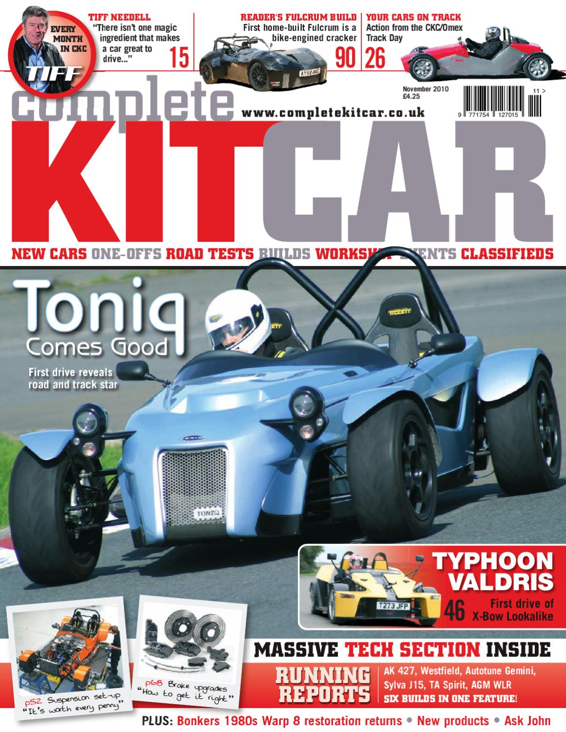 Complete Kit Car magazine November 2010 Preview by Performance ...