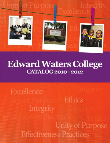 2010 2012 EWC Catalog By Edward Waters College Issuu